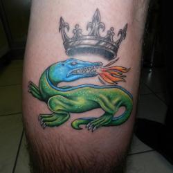 salamandre medieval