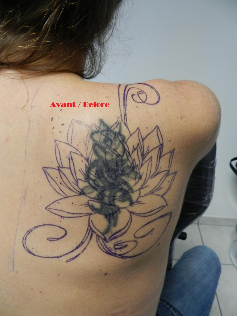 Fabulous Recouvrement Tatouage / Cover-up MN39